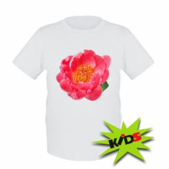 Дитяча футболка Півонія