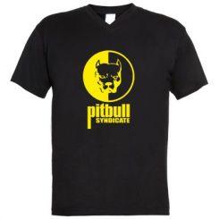 Чоловічі футболки з V-подібним вирізом Pitbull Syndicate