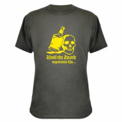Камуфляжна футболка Поки смерть не розлучить нас
