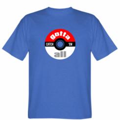 Футболка Pokemon Ball Gotta catch