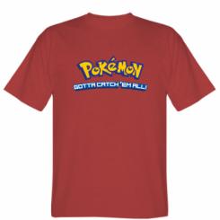 Футболка Pokemon Gotta catch 'em all