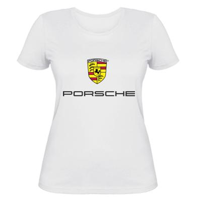 Купити Жіноча футболка Porsche