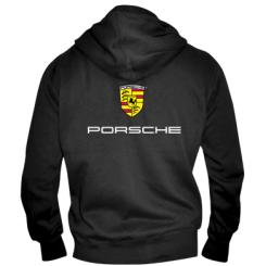Купити Чоловіча толстовка на блискавці Porsche