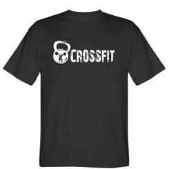 Футболка Потертий напис CrossFit
