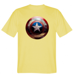 Футболка Потрісканий щит Капітана Америка