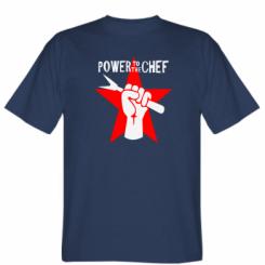 Футболка Power to the chef
