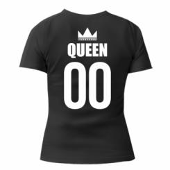 Жіноча футболка Queen (number)