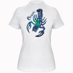 Жіноча футболка поло Рак зірки