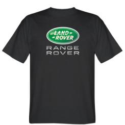 Футболка Range Rover Logo Metalic