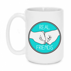 Кружка 420ml Real Friends