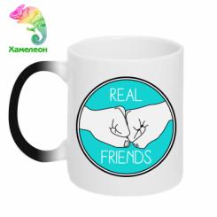 Кружка-хамелеон Real Friends