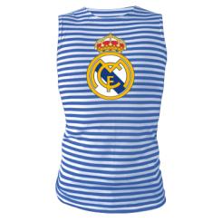 Майка-тільняшка Real Madrid