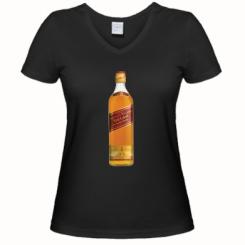 Жіноча футболка з V-подібним вирізом Red Label