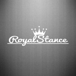 Наклейка Royal Stance