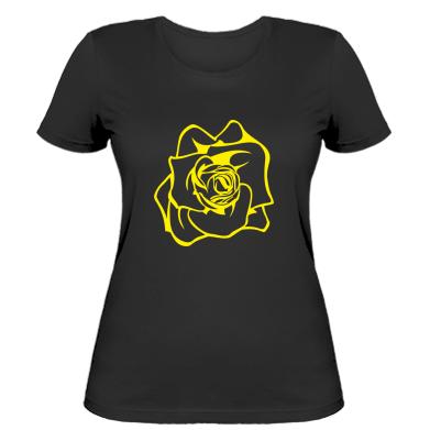 Жіноча футболка Троянда