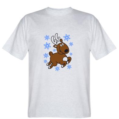Футболка Різдвяний оленя