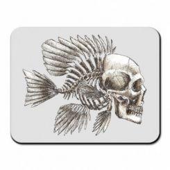 Килимок для миші Риба-череп