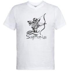 Купити Чоловічі футболки з V-подібним вирізом Sagittarius (Стрілець)