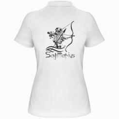 Купити Жіноча футболка поло Sagittarius (Стрілець)