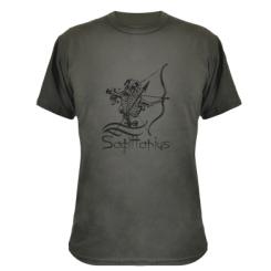 Купити Камуфляжна футболка Sagittarius (Стрілець)