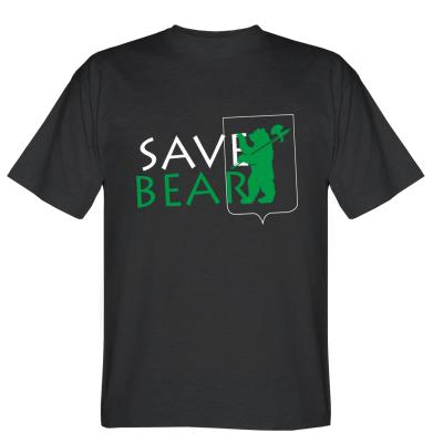 Футболка Save Bears