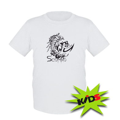 Купити Дитяча футболка Scorpio (Скорпіон)