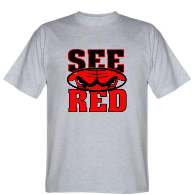 Футболка See Red