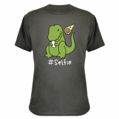 Камуфляжна футболка #selfie