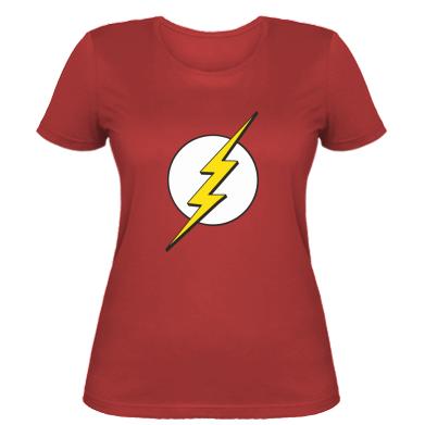 Жіноча футболка Sheldon Cooper Flash
