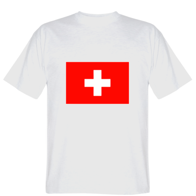 Футболка Швейцарія