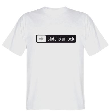 Футболка Slide to unlock