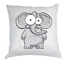 Подушка Слон окатий