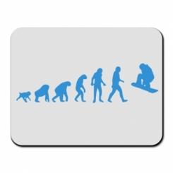Килимок для миші Snowboard Evolution