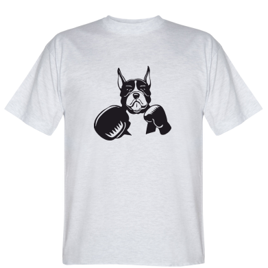 Футболка Собака в боксерських рукавичках