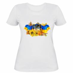 Жіноча футболка Сонячна Україна