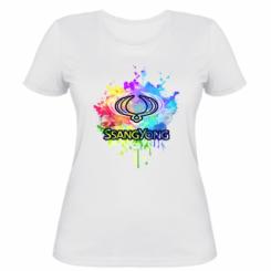 Жіноча футболка SsangYong Art