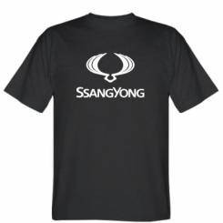 Футболка SsangYong Logo