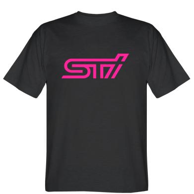 Футболка логотип STI