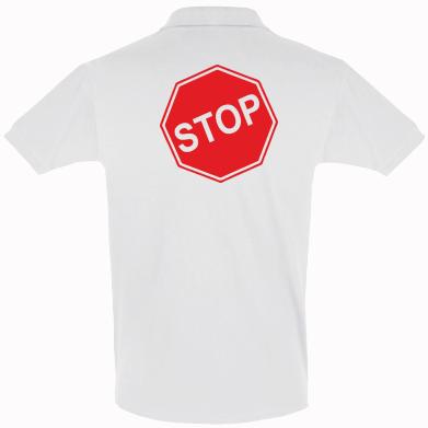 Купити Футболка Поло STOP