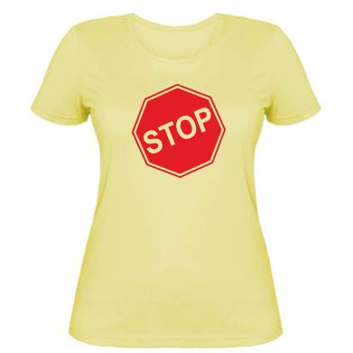 Купити Жіноча футболка STOP