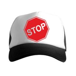 Купити Кепка-тракер STOP