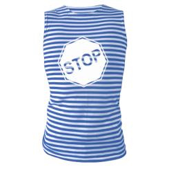 Купити Майка-тільняшка STOP
