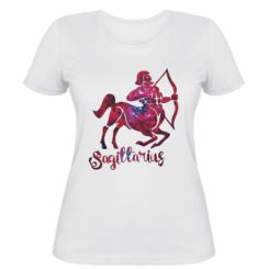 Жіноча футболка Стрілець зірки