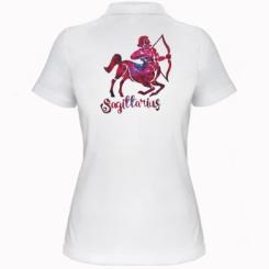 Жіноча футболка поло Стрілець зірки