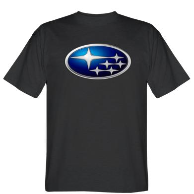 Футболка Subaru 3D Logo