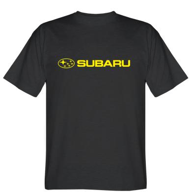 Футболка Subaru logo