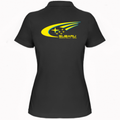 Купити Жіноча футболка поло Subaru WRT