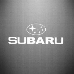 Купити Наклейка Subaru