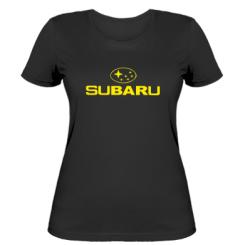 Купити Жіноча футболка Subaru
