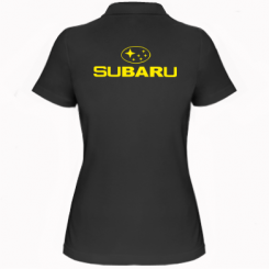 Купити Жіноча футболка поло Subaru